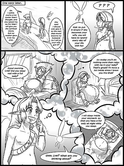 Ocarina of Vore Ch. 1-5 -..