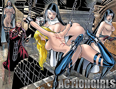 Exclusive actiongirls art..