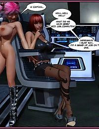 Lesbian fantasy comics - part 281