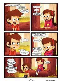 Gravity Falls - Secrets Of The Woods - part 2
