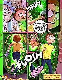 Rick & Morty - Pleasure Trip - part 2