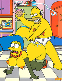 Its marges birthday and homer has a very special gift for her he makes his very - part 2953