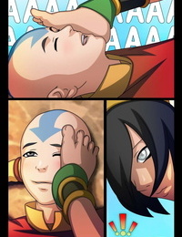 Comics Toons Magic Rape #2 - Волшебное изнасилование Avatar: The Last Airbender Russian